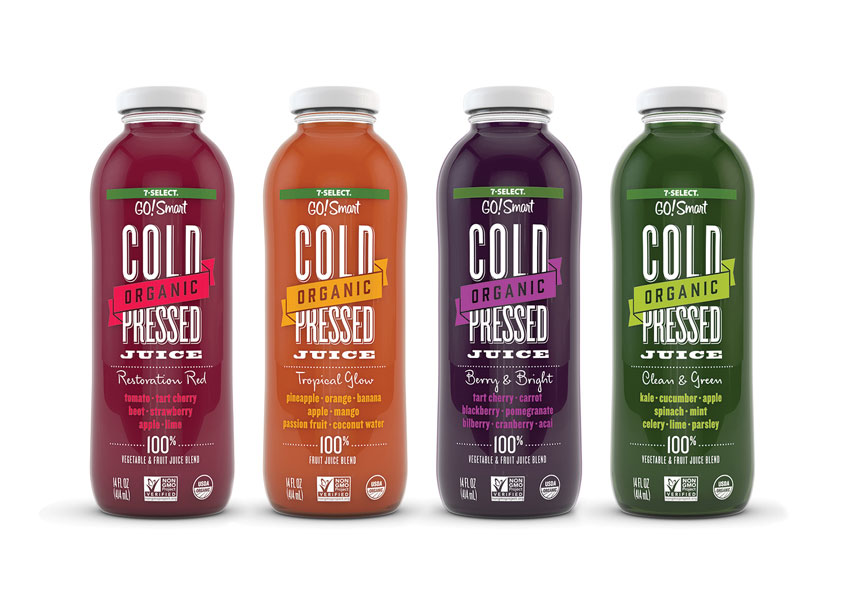 Brandimage 7 Select Cold Press Juice Executive