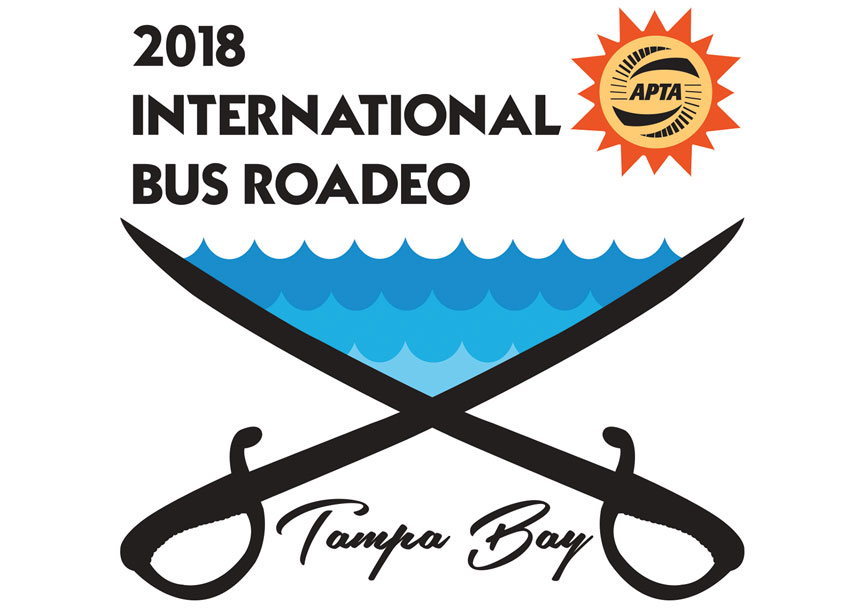 APTA International Bus Roadeo Logo by Hillsborough Area Regional Transit Authority