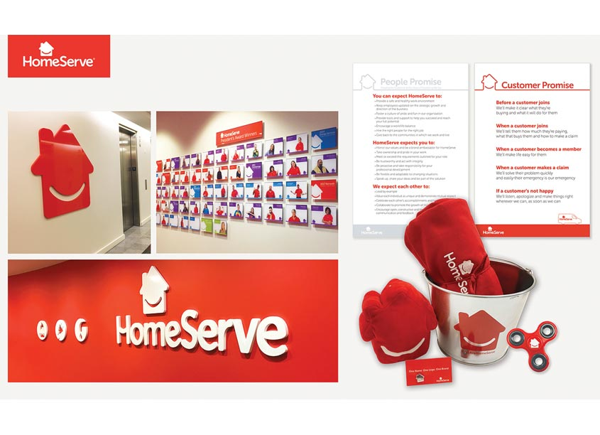 HomeServe USA Rebrand by HomeServe USA