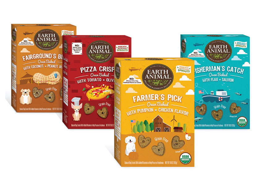 Hughes Brandmix  Earth Animal Baked Treats