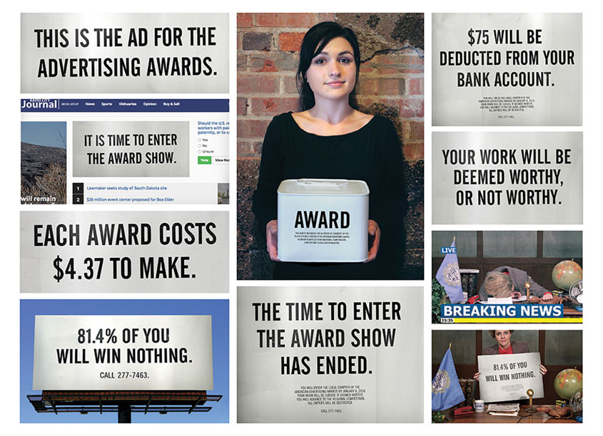 Jackalope  Addy Awards Graphics