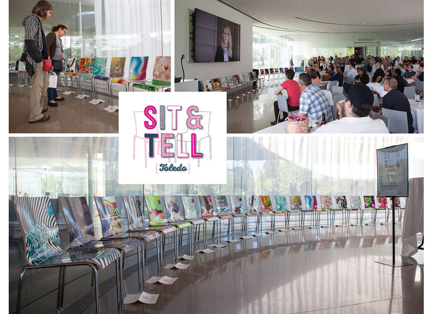 The Sit & Tell Project by AIGA Toledo
