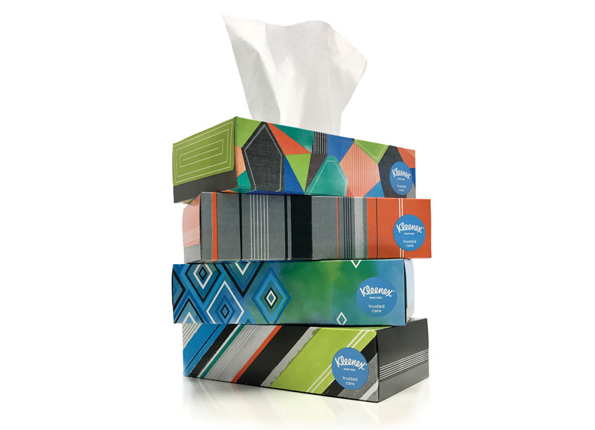 Kay James Design  Kleenex® Back-to-School (Walmart Specific)
