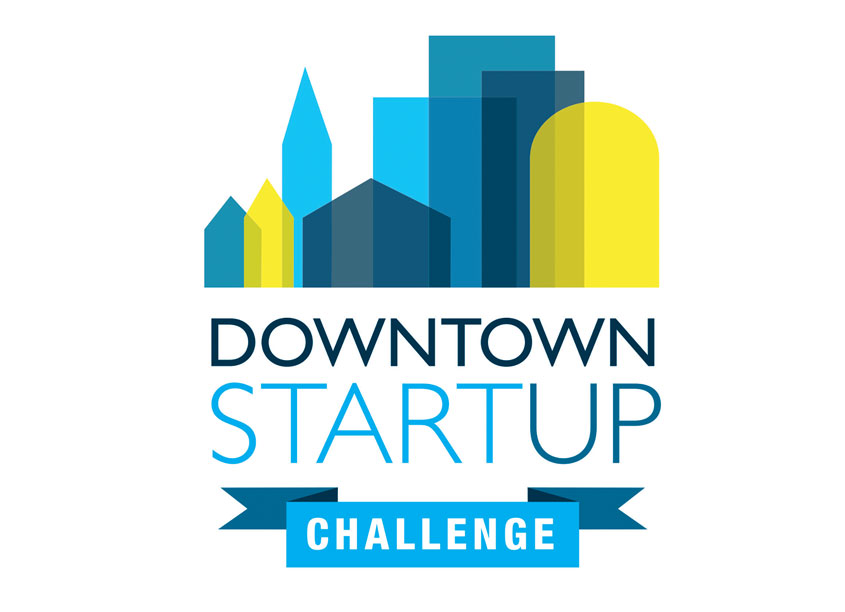 Downtown Startup Challenge Identity by Leah McDonald Design + Photography