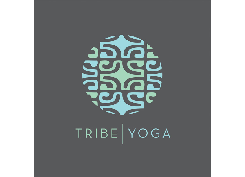 Tribe Yoga Identity by Leah McDonald Design + Photography