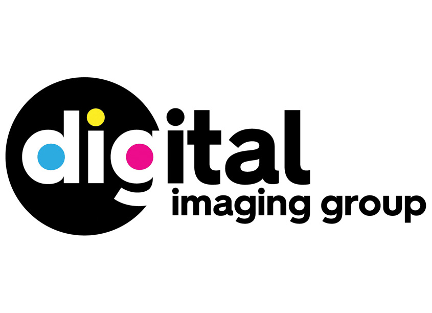 Digital Imaging Group Logo by Gene Burns Graphic Design