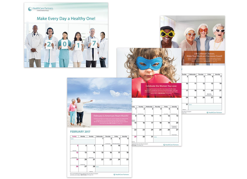 Patient Calendar 2017 by Manughian Design