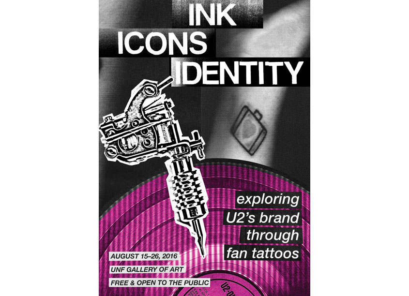 Ink, Icons, Identity Exhibit Announcement: Exploring U2's Brand Through Fan Tattoos by Beth Nabi