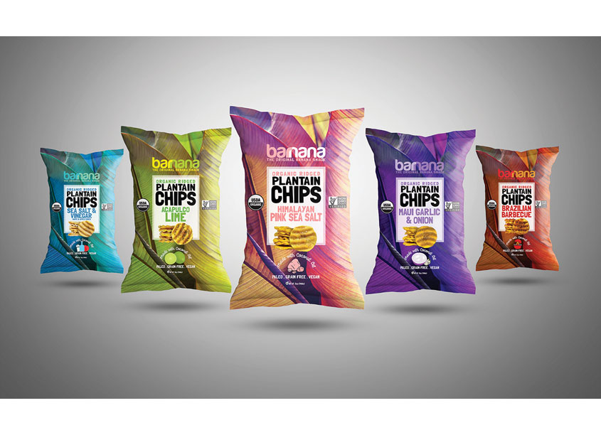 Nik Ingersoll  World's First Organic Ridged Plantain Chips