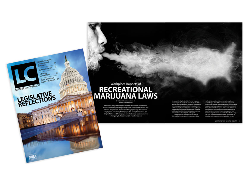 Northeastern Retail Lumber Association (NRLA)  July/August 2017 Edition - Legislative Reflections