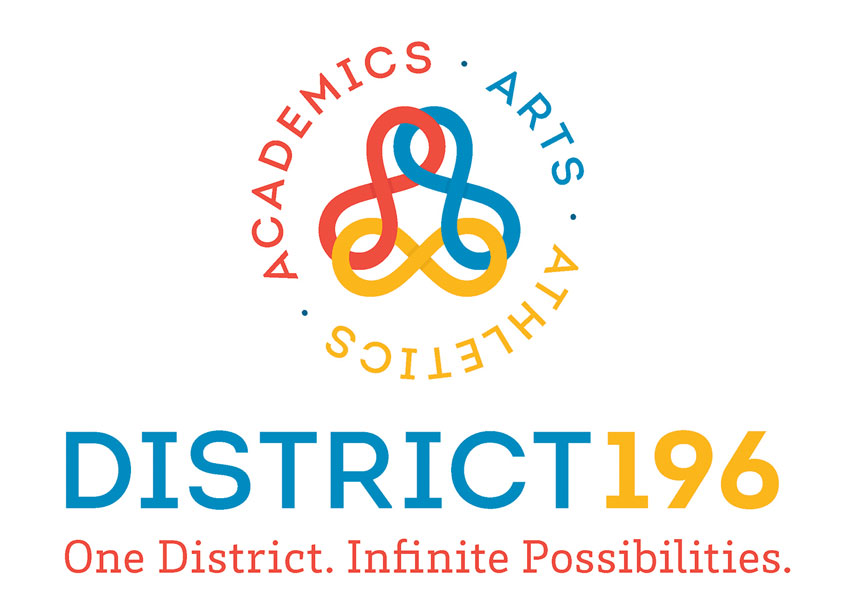 ISD 196 Logo Design by Peter Hill Design