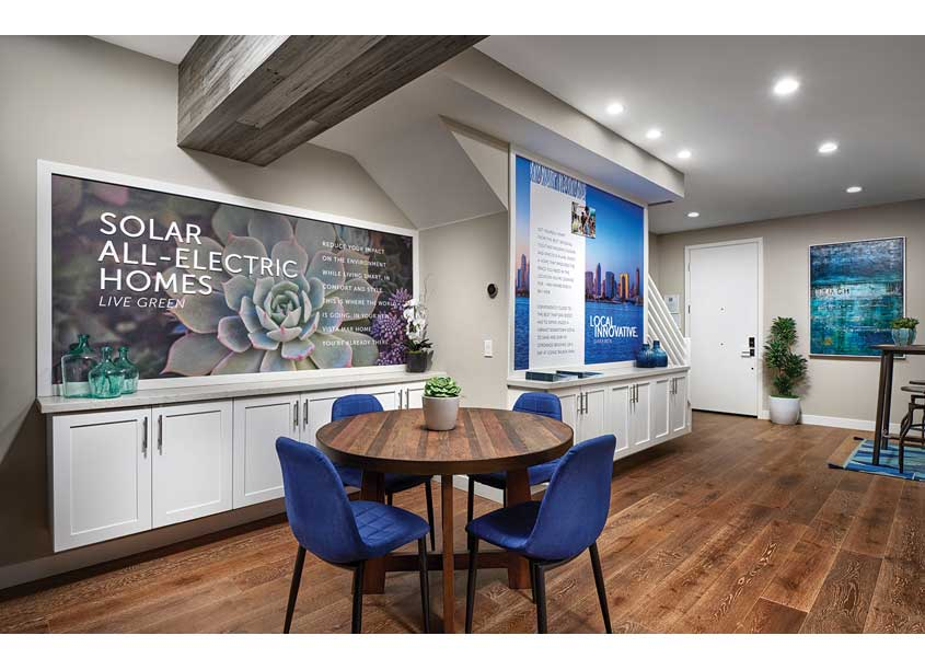 Placewright Design/WHA's Branding & Marketing Agency  Sales Center Environmental Graphic Design