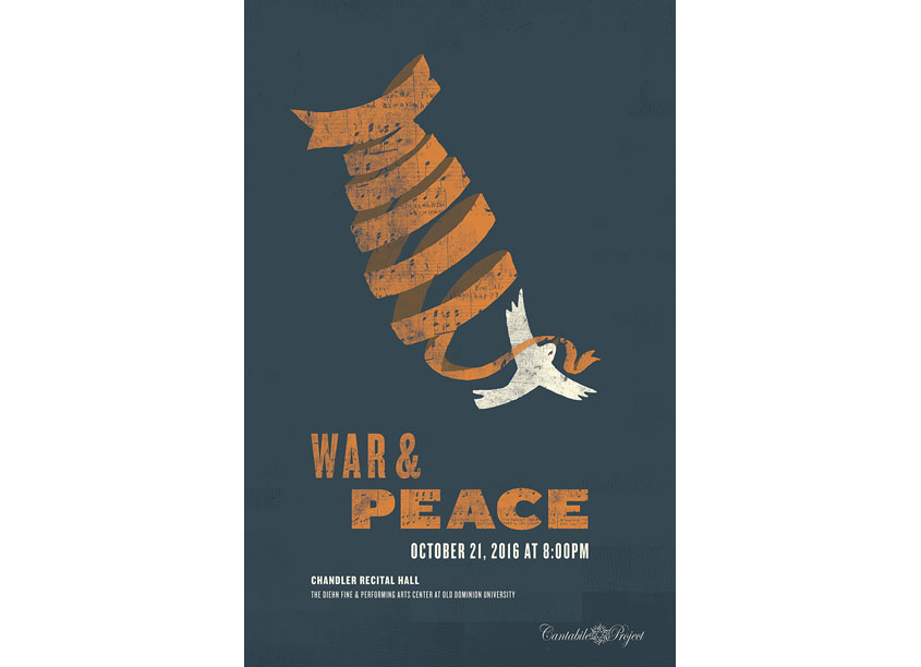 R-N-R Showprint  War & Peace Poster
