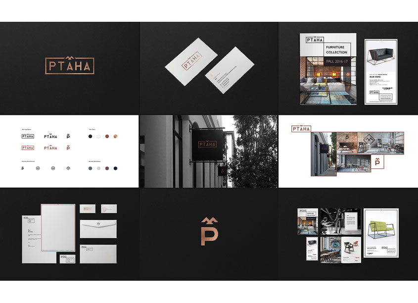 PTAHA Branding and Identity by Roman Vynogradnyi