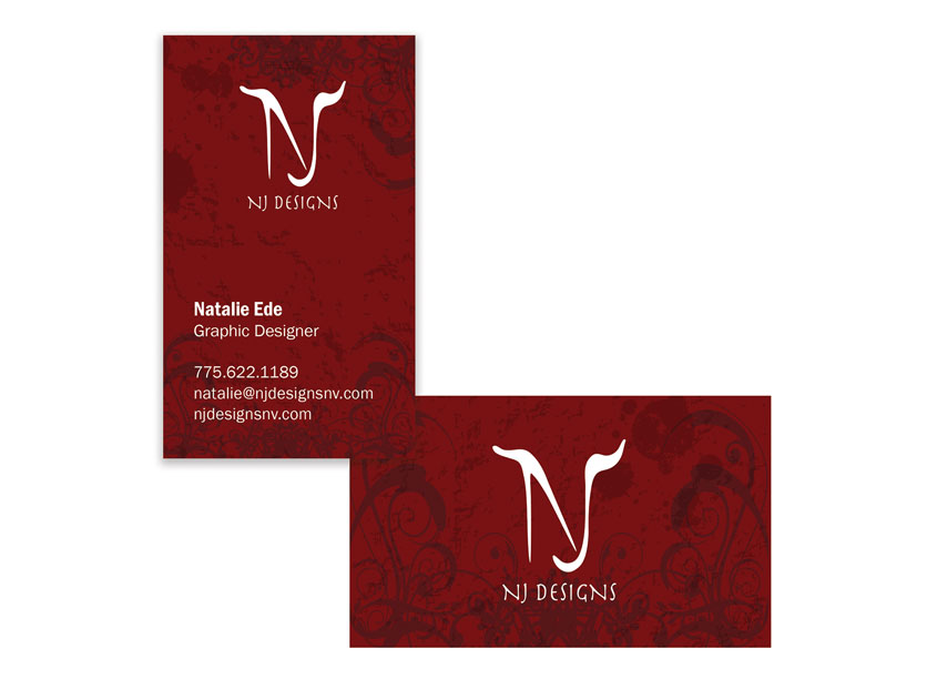 Business Card Design by NJ Designs