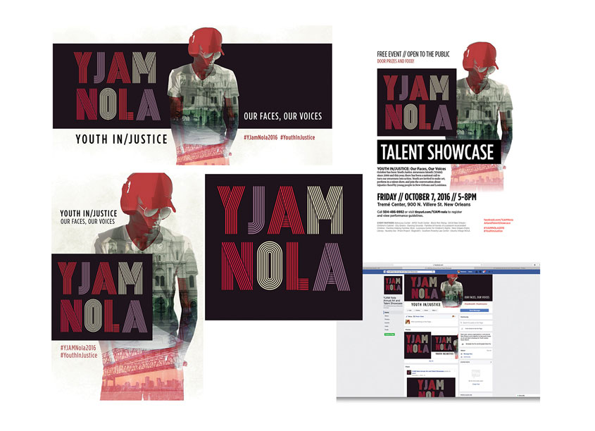 Southern Poverty Law Center  YJAM New Orleans Talent Showcase Campaign