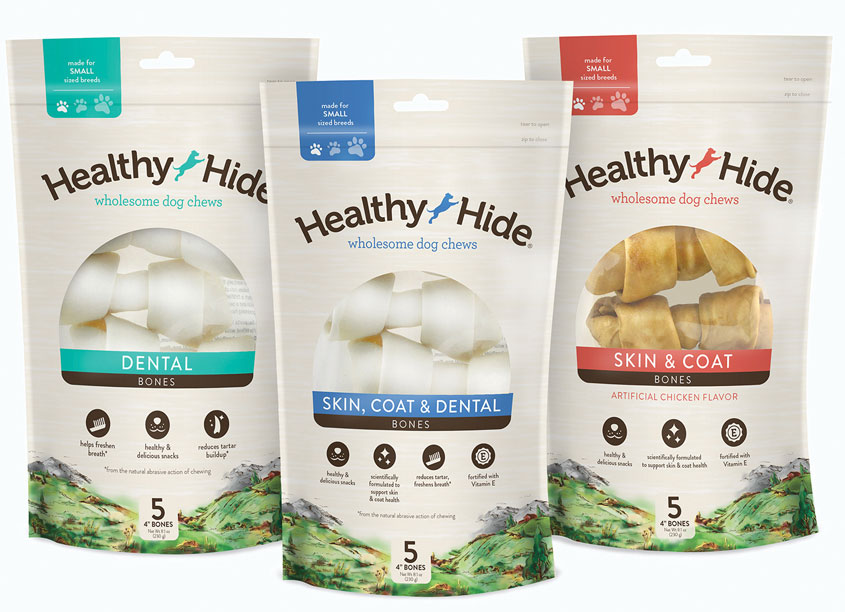 Healthy Hide® Brand Redesign by Spectrum Brands - Pet, Home & Garden Division and Chase Design