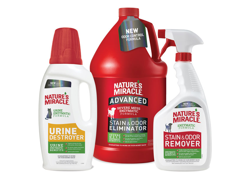 Spectrum Brands - Pet, Home & Garden Division Nature's Miracle® Brand Redesign