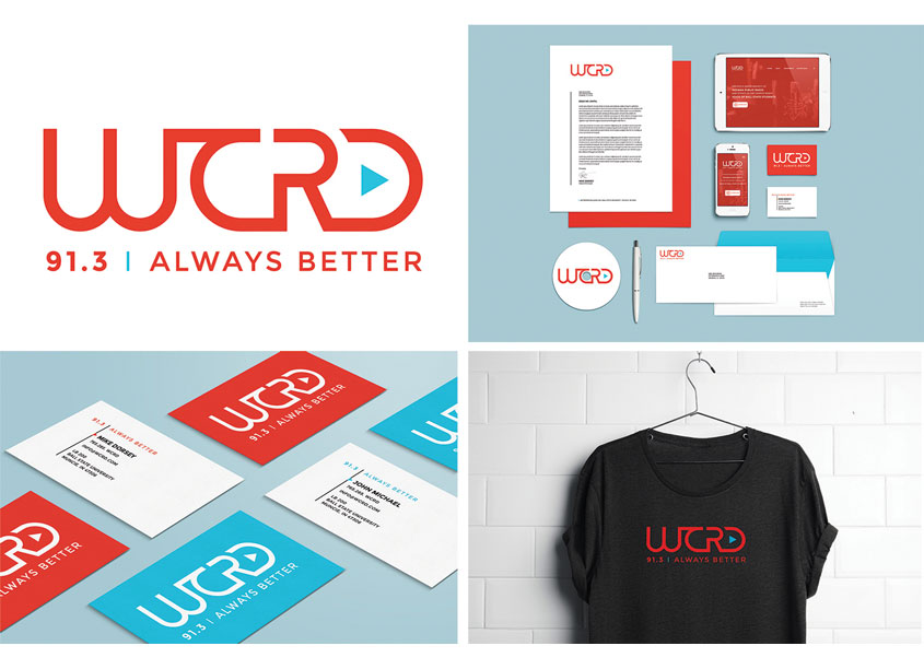 WCRD Radio Station Identity by Studio 165+