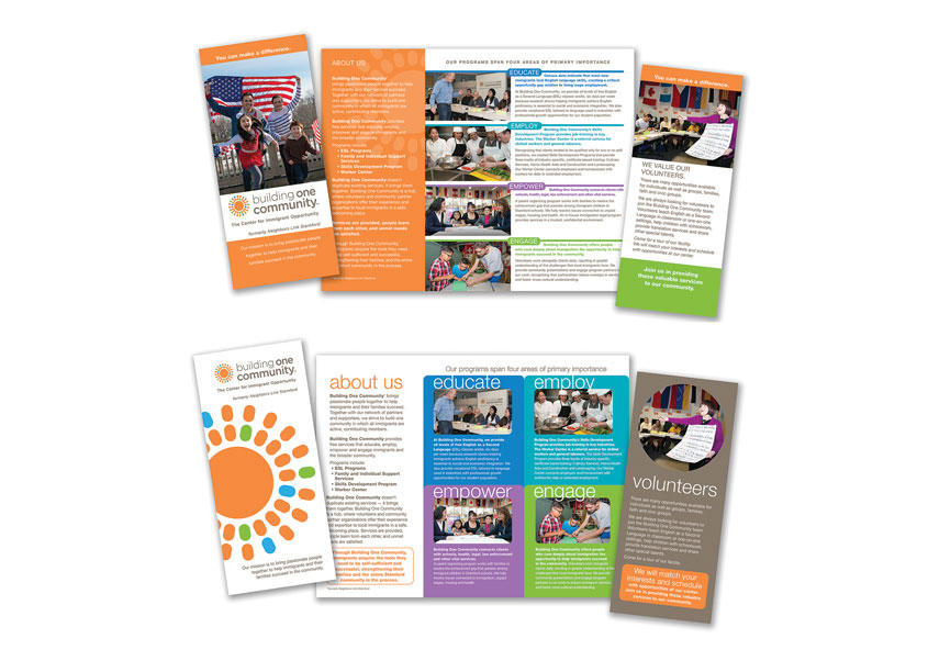 Building One Community™ Trifold Brochures by TFI Envision, Inc.