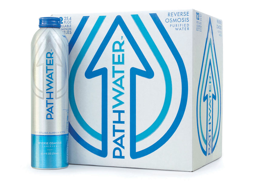 PATHWATER Branding and Package Design by Trinity Brand Group