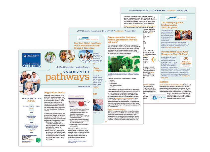UF/IFAS Communications  UF/IFAS Extension Hardee County Community Pathways Newsletter