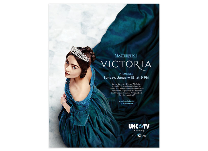 UNC-TV  Masterpiece/Victoria Advertisement