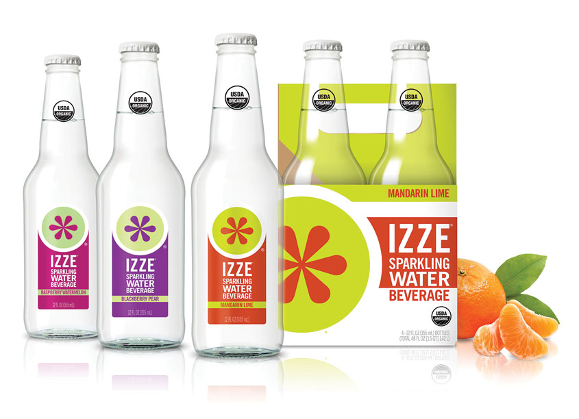 Voicebox Creative, Inc. IZZE Sparkling Water Packaging