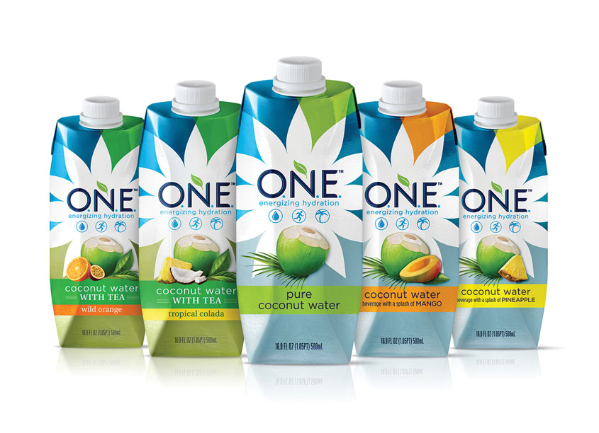 Voicebox Creative, Inc. O.N.E. Coconut Water Packaging