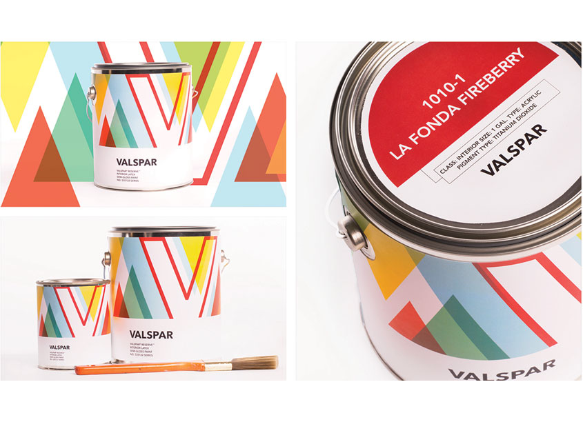 Valspar Packaging by School of Advertising Art (SAA)