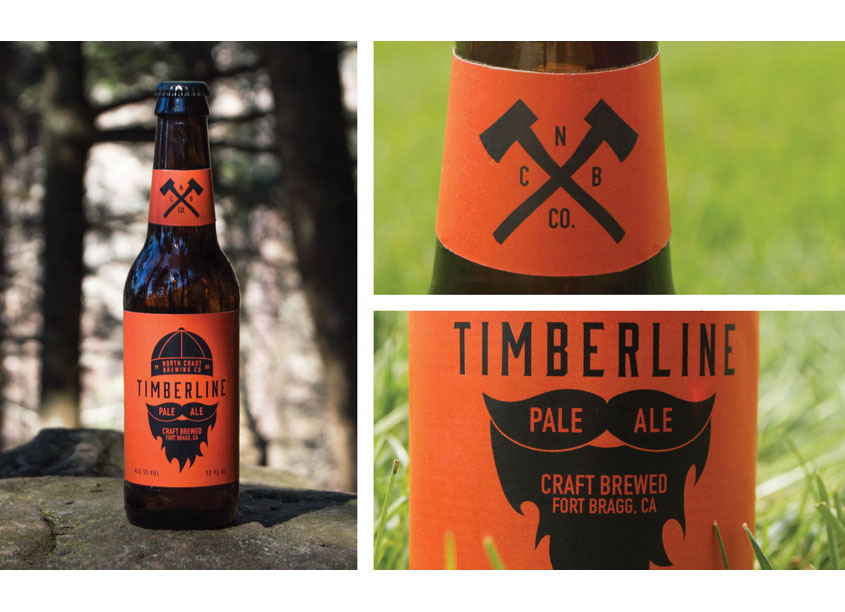 Timberline Label Design by School of Advertising Art (SAA)