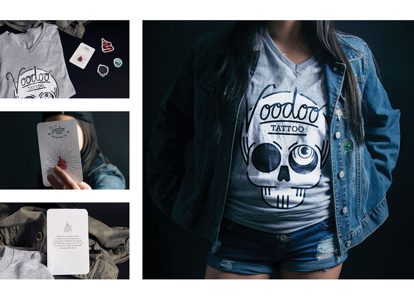 Voodoo Tattoo Branding by School of Advertising Art (SAA)