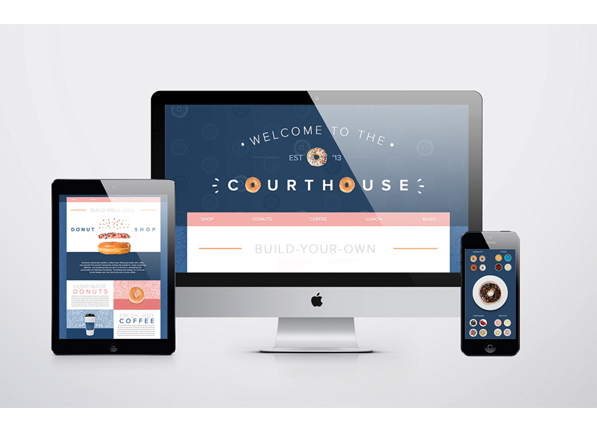 Courthouse Website by School of Advertising Art (SAA)