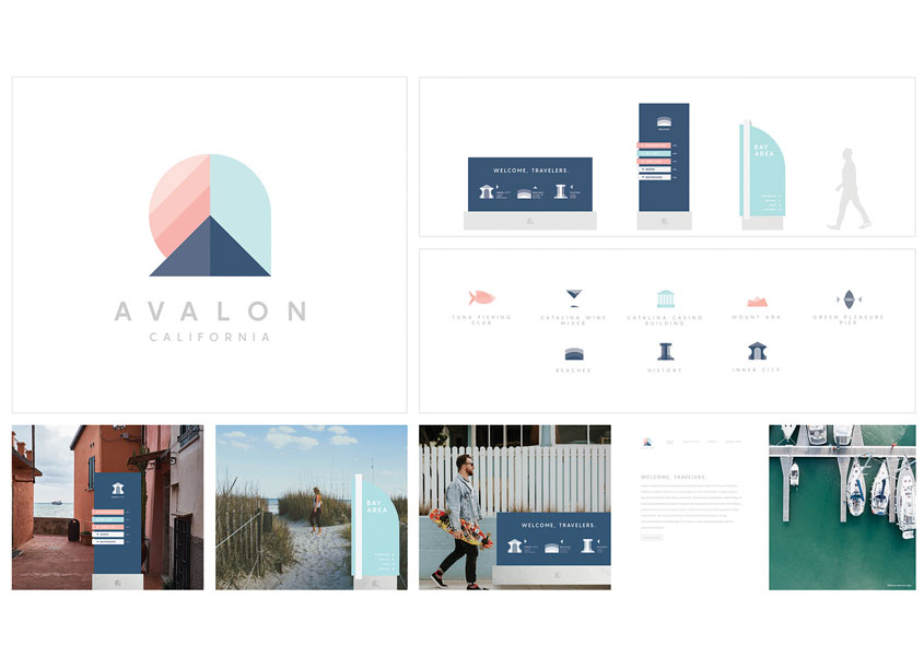 School of Advertising Art (SAA)  Avalon City Branding