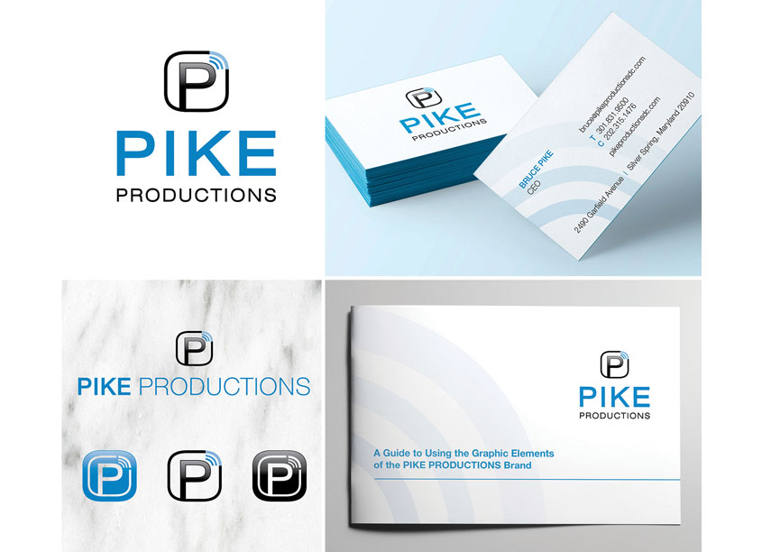 Pike Productions Branding by Pomp Creative