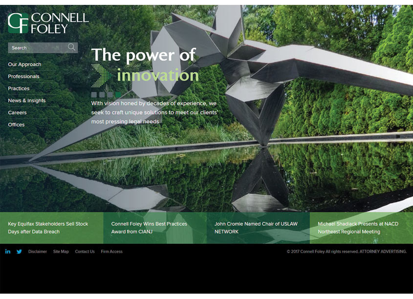 Connell Foley LLP  Connell Foley Website