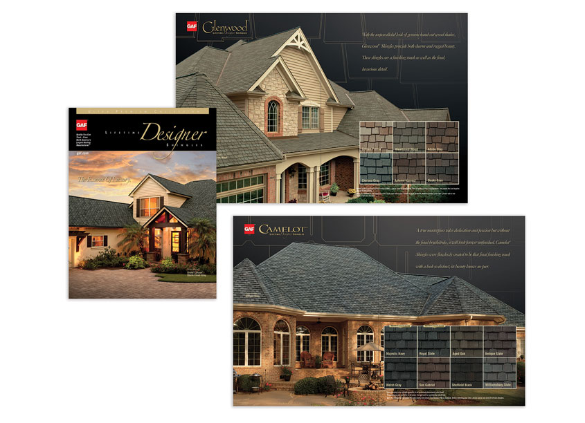 Ultra Premium Brochure by GAF/Creative Design Services