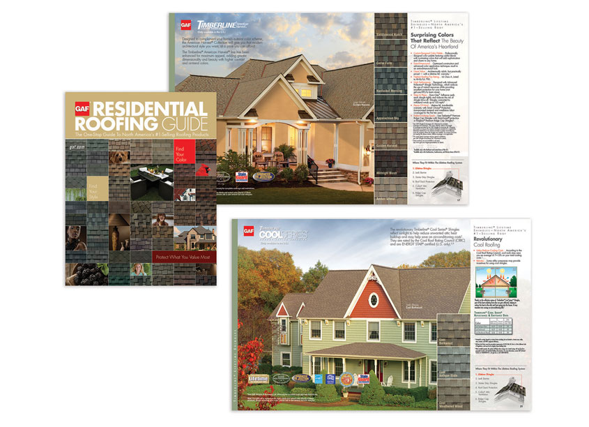 Full Line Brochure by GAF/Creative Design Services