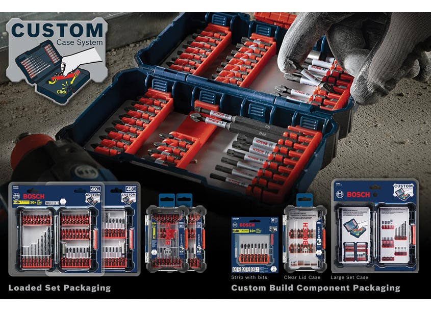 Robert Bosch Tool Corporation  Bosch Custom Case System