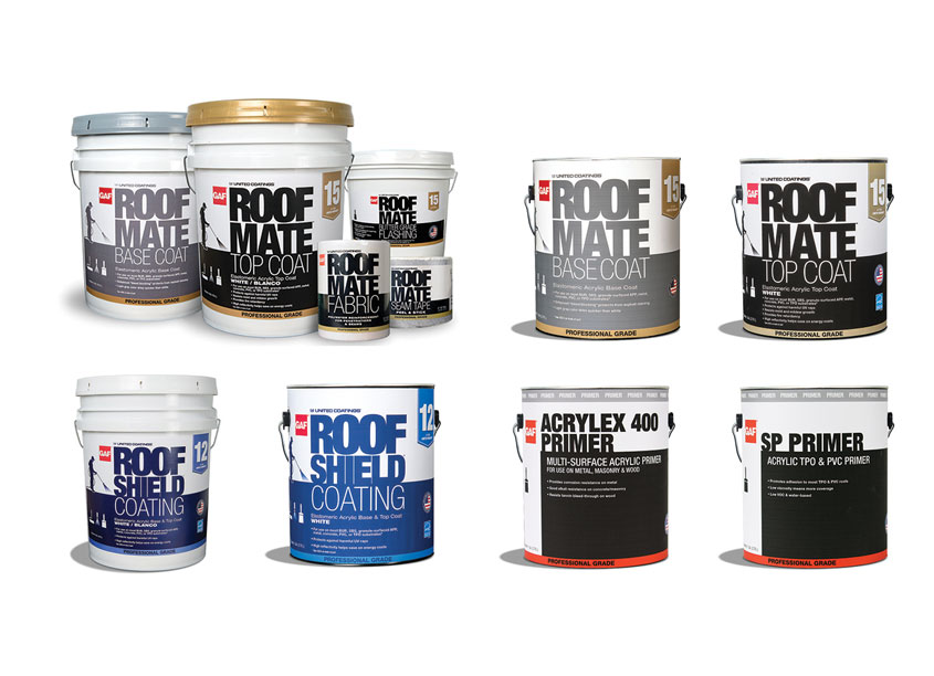 Roof Mate Packaging by GAF/Creative Design Services