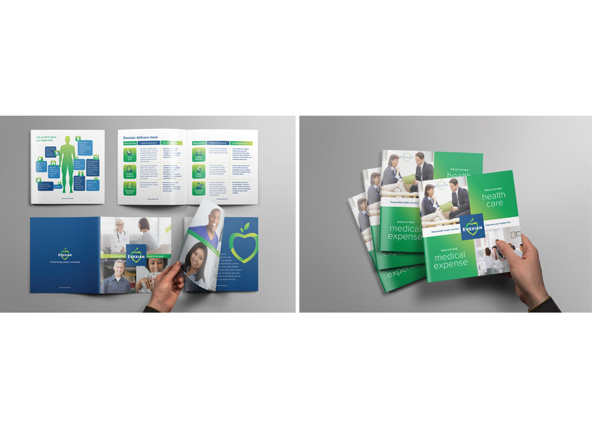 Reino's Design Print Mail  Capabilities Brochure