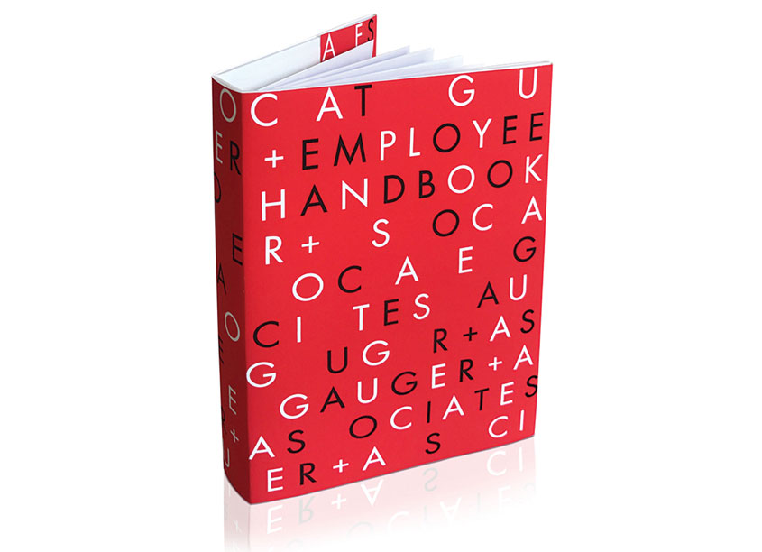 Employee Handbook by Gauger + Associates