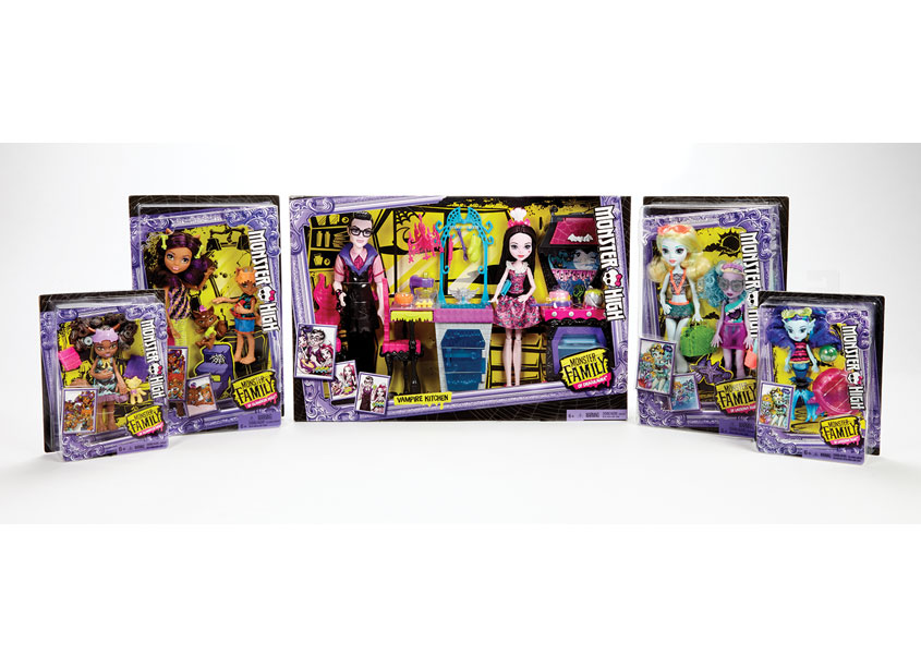 Monster High® Monster Family by Mattel, Inc.
