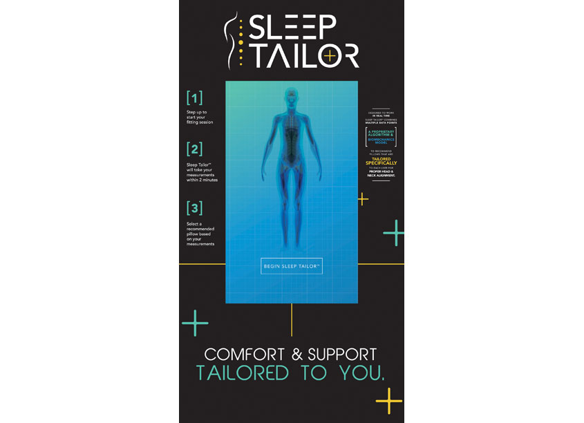 Protect-A-Bed  SleepTailor Technology Display