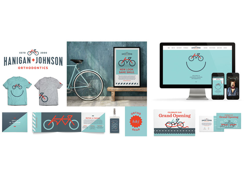 Hanigan & Johnson Brand Identity by Test Monki