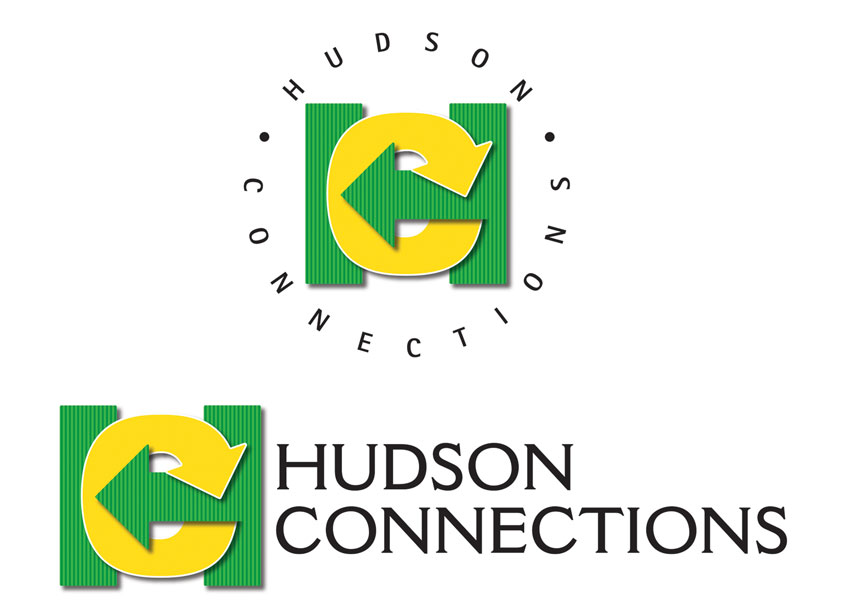 Hudson Connections Logo Design by Leonardo Studio Inc.
