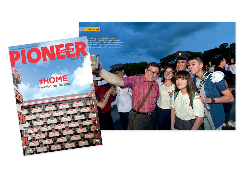 #HOME - PIONEER Magazine August 2017 by Ministry of Defence, Singapore & So Drama! Entertainment