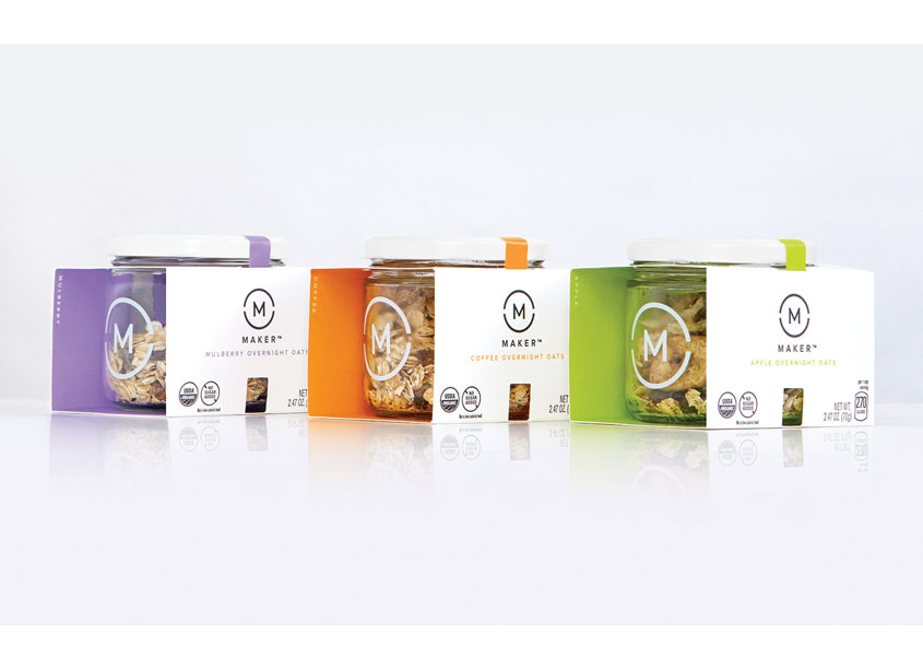 Maker Overnight Oats by PepsiCo Design & Innovation