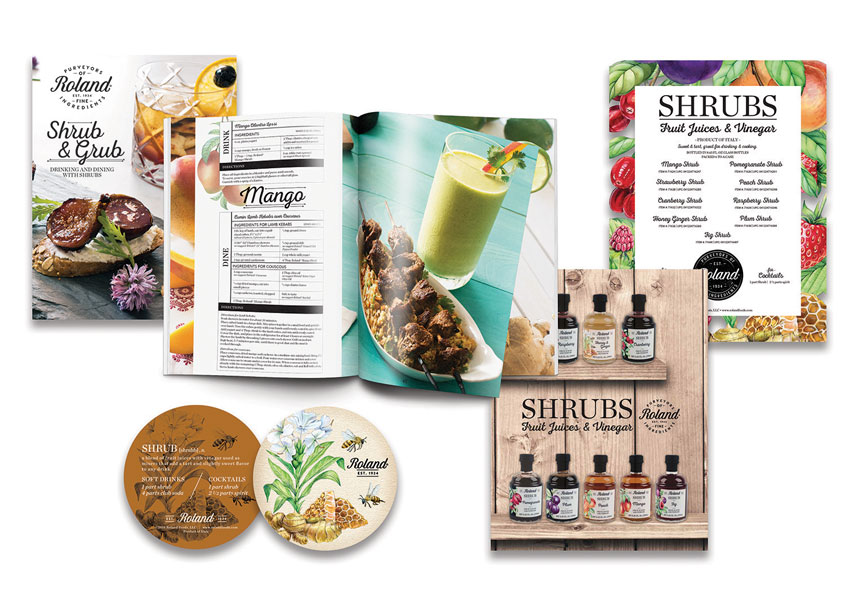 Roland® Shrubs & Grubs Brochure & Collateral by Roland Foods, LLC - Creative Department