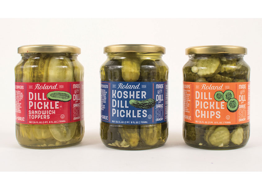 Roland® Pickles Line Package Design by Roland Foods, LLC - Creative Department